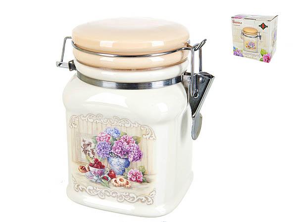 {} Polystar Банка для сыпучих Sweet Home (10х10х14 см) банка для сыпучих продуктов polystar sweet home 850 мл
