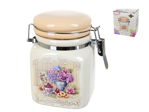 {} Polystar Банка для сыпучих Sweet Home (8х8х12 см) банка для сыпучих продуктов polystar sweet home 850 мл