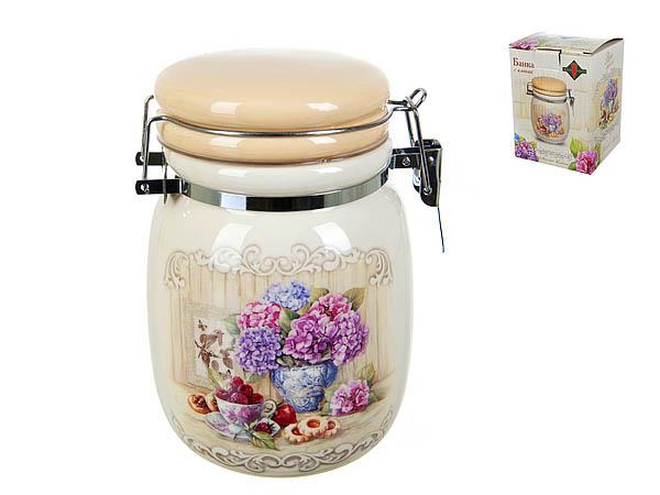 {} Polystar Банка для сыпучих Sweet Home (10х14 см) банка для сыпучих продуктов polystar sweet home 850 мл