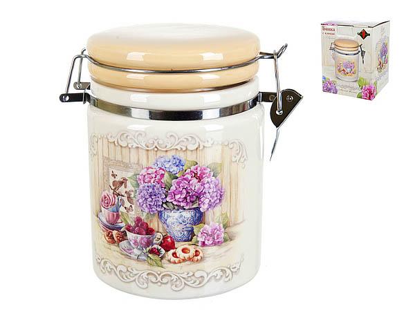 {} Polystar Банка для сыпучих Sweet Home (11х15 см) банка для сыпучих продуктов polystar sweet home 850 мл