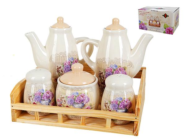 {} Polystar Набор для специй Sweet Home (16х17х21 см) набор для специй polystar джем 6 предметов