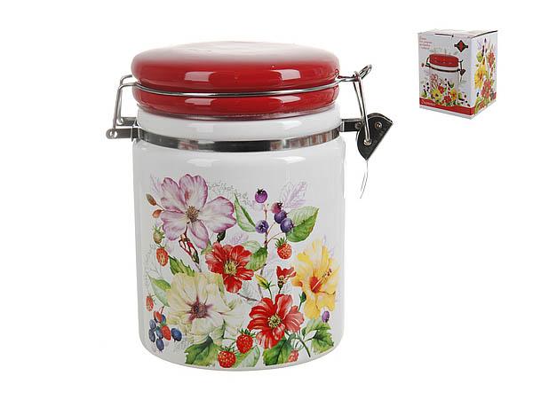 {} Polystar Банка для сыпучих Summer (11х15 см) банка для сыпучих продуктов polystar sweet home 850 мл