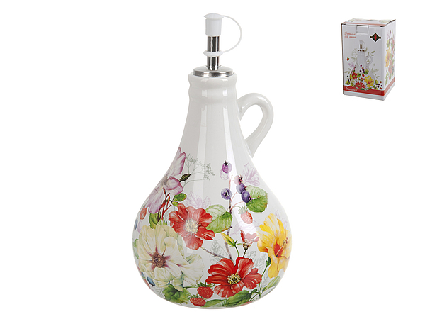 {} Polystar Бутылка для масла Summer (12х12х19 см) polystar кружка романс 310 мл