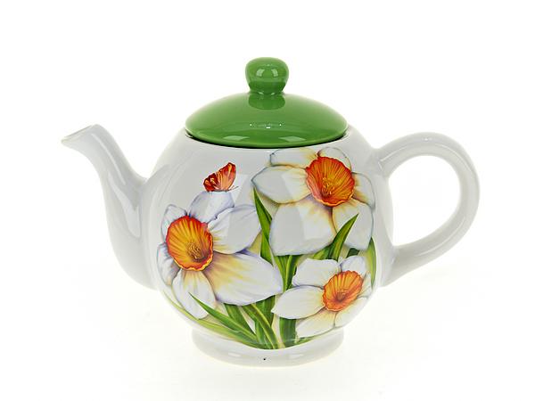 {} Polystar Заварочный чайник Нарцисс (11х16 см) polystar менажница нарцисс 3х24 см
