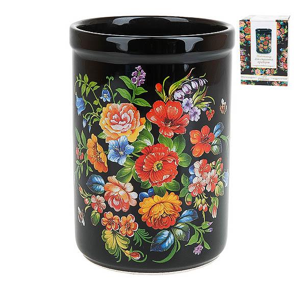 {} Polystar Подставка для столовых приборов Романс (9х14 см) polystar подставка для столовых приборов садовая ягода 14 см