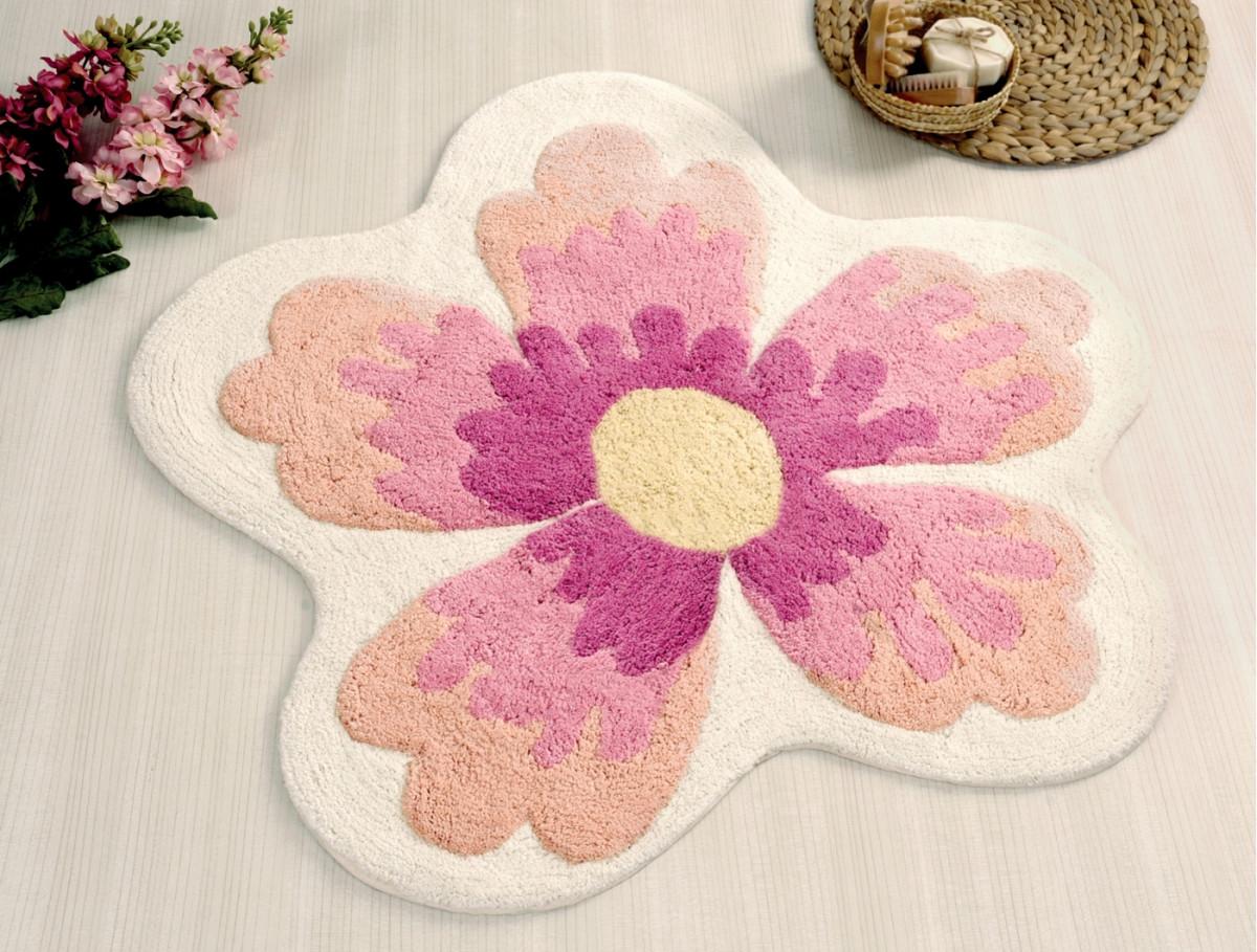 Аксессуары для ванной и туалета IRYA Коврик для ванной Lavin Цвет: Розовый (100х100 см) аксессуары для ванной и туалета irya коврик для ванной tropic цвет салатовый 60х100 см