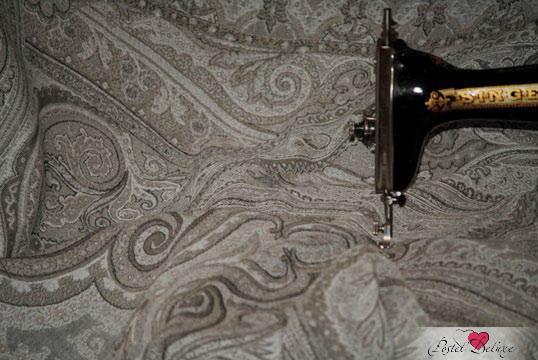 Скатерти и салфетки Lencera Скатерть Paisley Цвет: Серый (160х160 см) скатерти и салфетки karna скатерть leda цвет бордовый круглая 160 см