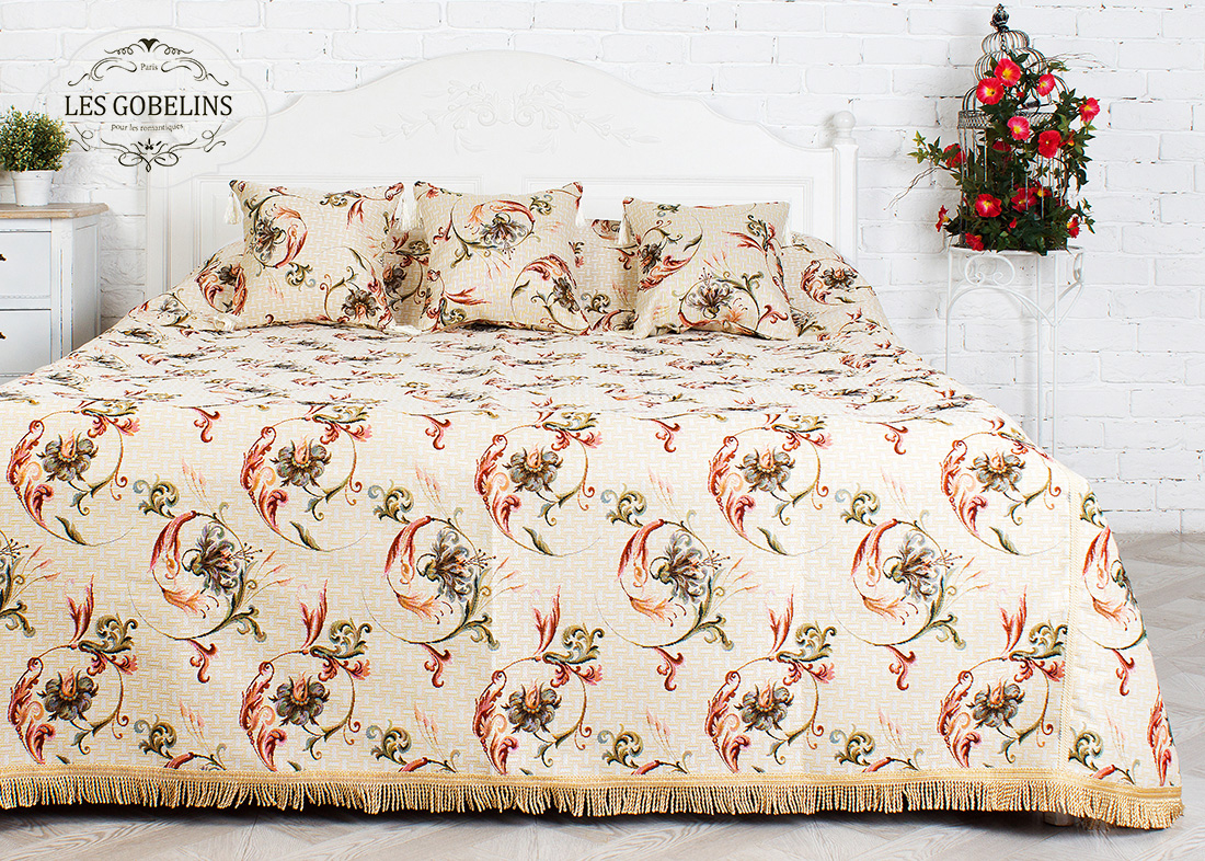 где купить Покрывало Les Gobelins Покрывало на кровать Anglais bell (240х220 см) по лучшей цене