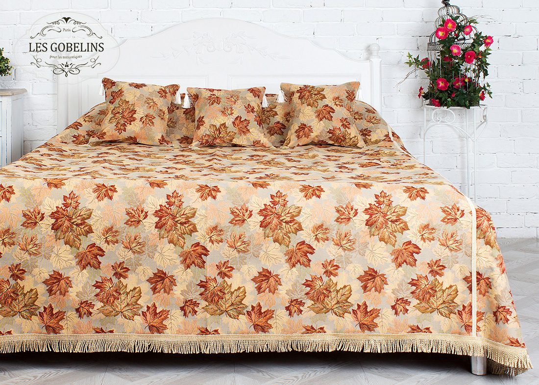 Покрывало Les Gobelins Покрывало на кровать Boston Waltz (140х220 см)