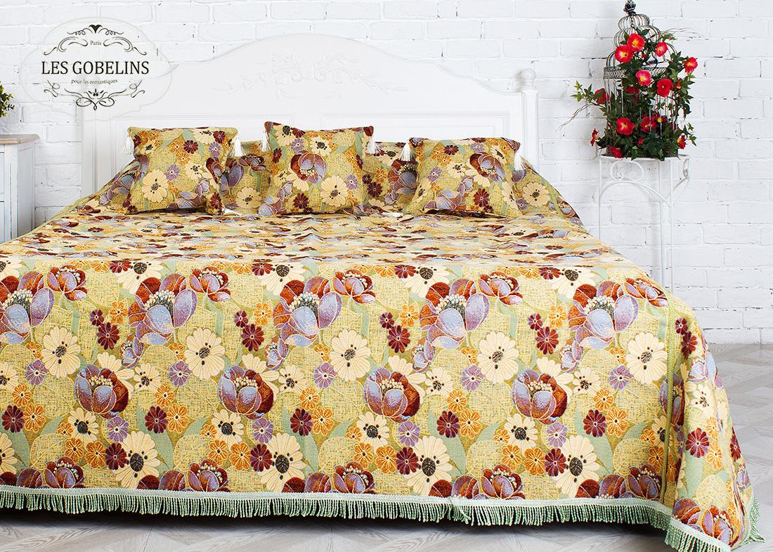 Покрывало Les Gobelins Покрывало на кровать Fantaisie (220х220 см) покрывало les gobelins покрывало на кровать coquelicot 220х220 см