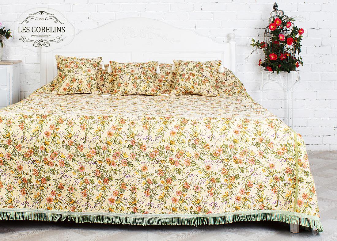 где купить Покрывало Les Gobelins Покрывало на кровать Humeur de printemps (260х240 см) по лучшей цене