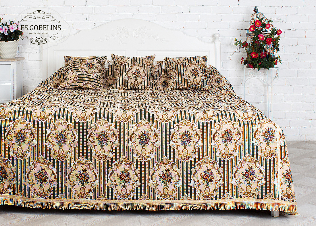 Покрывало Les Gobelins Покрывало на кровать 12 Chaises (260х240 см) покрывало les gobelins покрывало на кровать 12 chaises 190х220 см