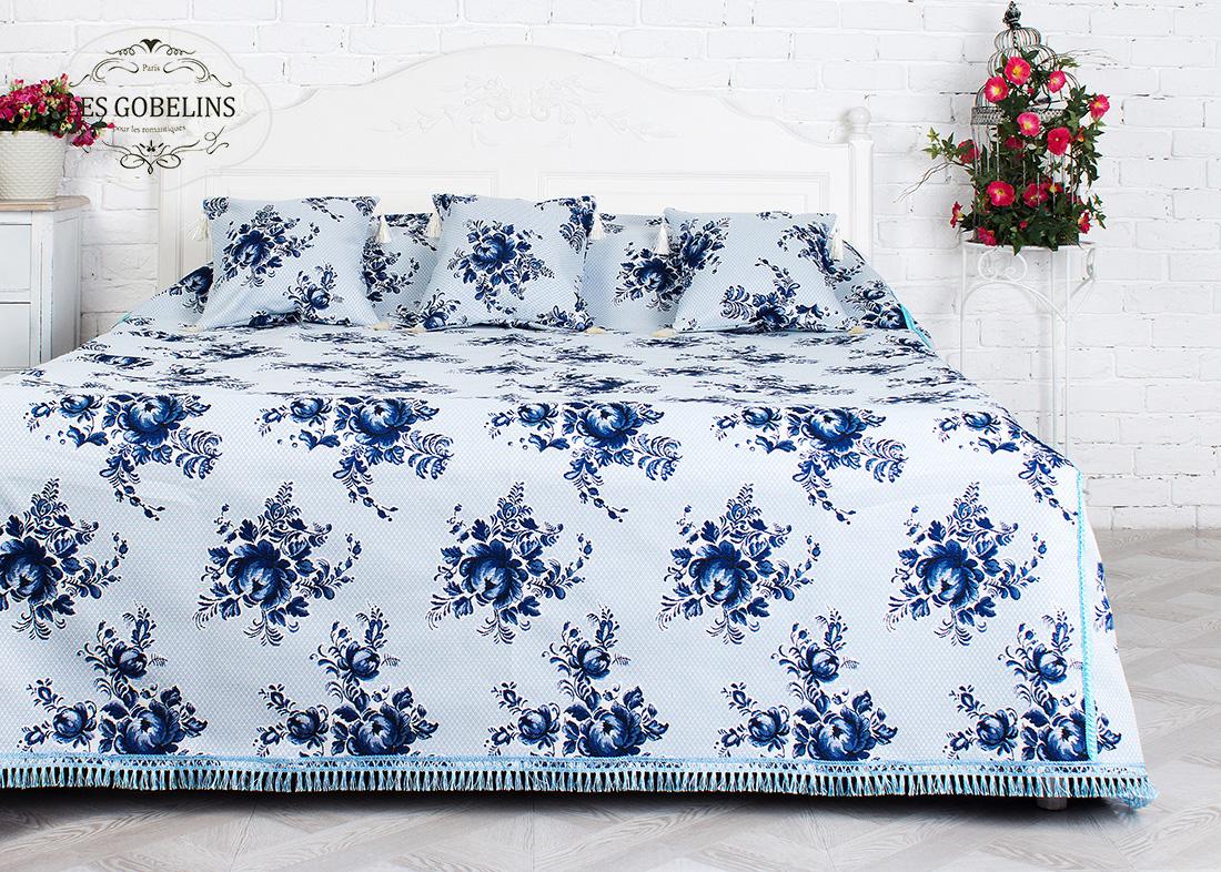 Покрывало Les Gobelins Покрывало на кровать Gzhel (190х220 см)