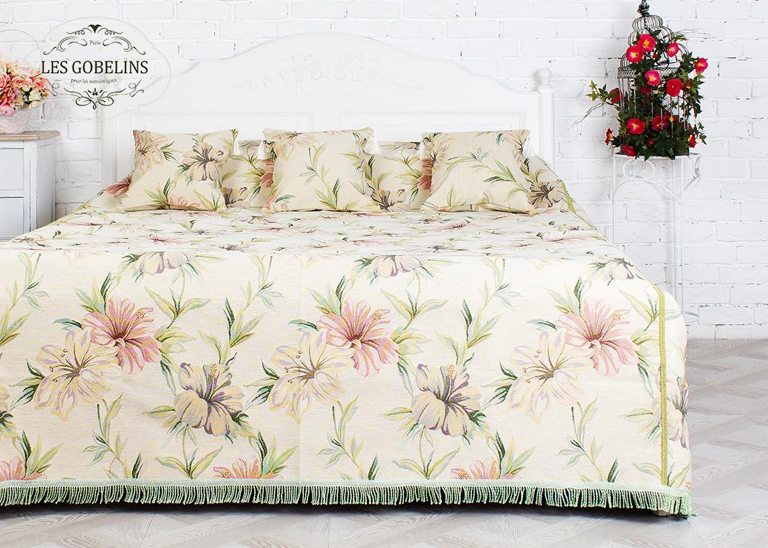 Покрывало Les Gobelins Покрывало на кровать Perle lily (140х220 см)