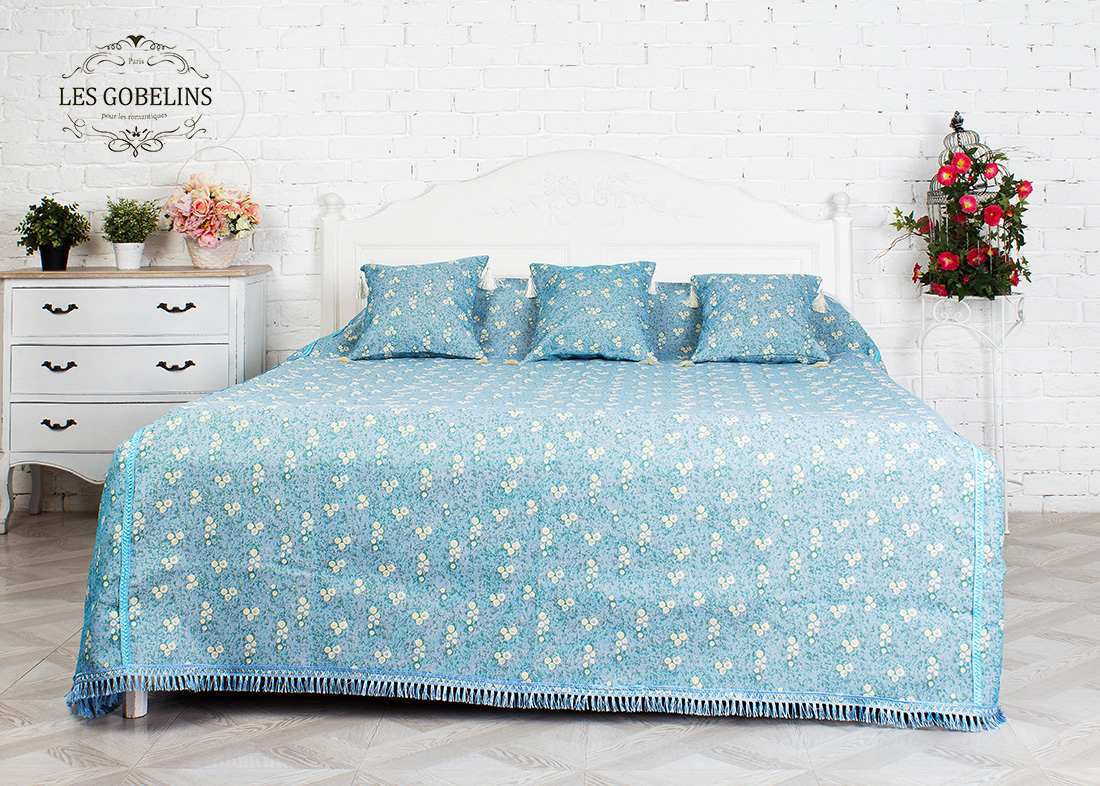 Детские покрывала, подушки, одеяла Les Gobelins Детское Покрывало на кровать Atlantique (240х220 см)