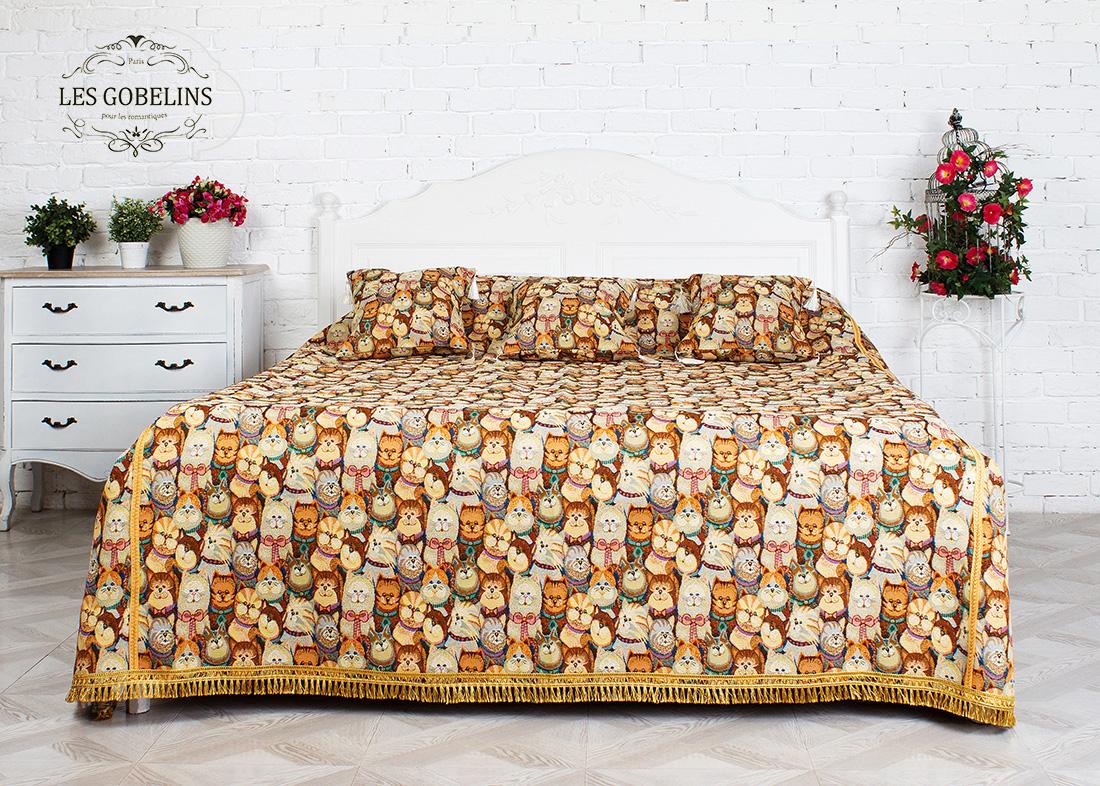 Детские покрывала, подушки, одеяла Les Gobelins Детское Покрывало на кровать Minou (200х230 см)