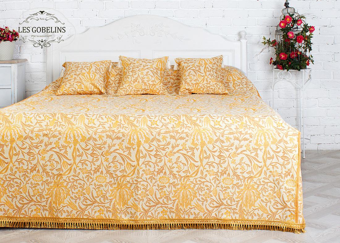 Покрывало Les Gobelins Покрывало на кровать Paroles or (140х220 см)