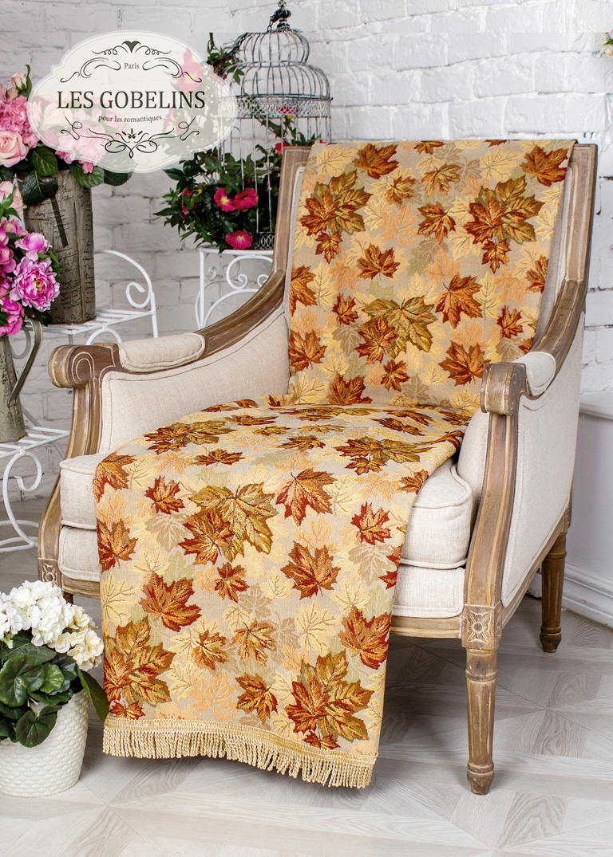 где купить Покрывало Les Gobelins Накидка на кресло Boston Waltz (80х190 см) по лучшей цене