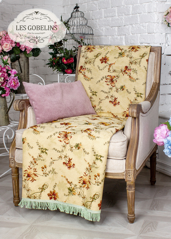 Покрывало Les Gobelins Накидка на кресло Cartomancienne (60х160 см)