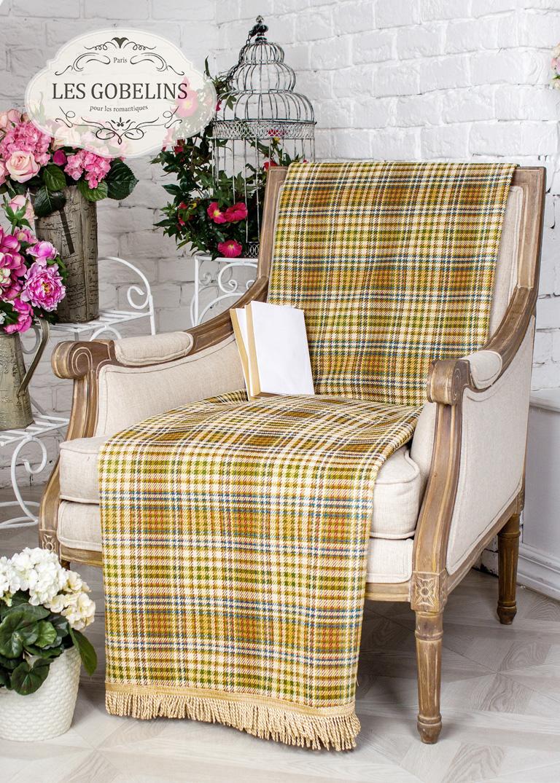 где купить Покрывало Les Gobelins Накидка на кресло Cellule vindzonskaya (50х130 см) по лучшей цене
