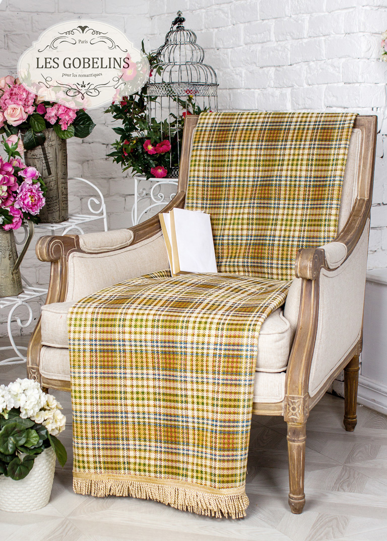 где купить Покрывало Les Gobelins Накидка на кресло Cellule vindzonskaya (100х170 см) по лучшей цене