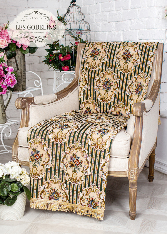 где купить Покрывало Les Gobelins Накидка на кресло 12 Chaises (50х150 см) по лучшей цене