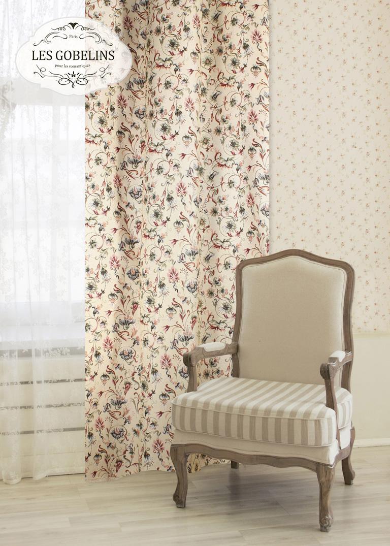 Шторы Les Gobelins Классические шторы Fleurs anglais шторы kauffort классические шторы barolo