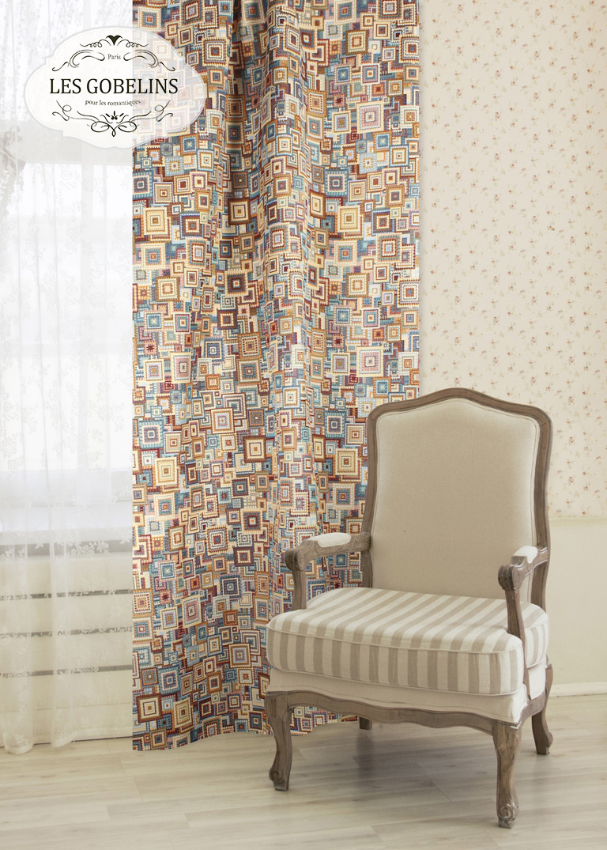 Шторы Les Gobelins Классические шторы Collage geometrique шторы kauffort классические шторы barolo