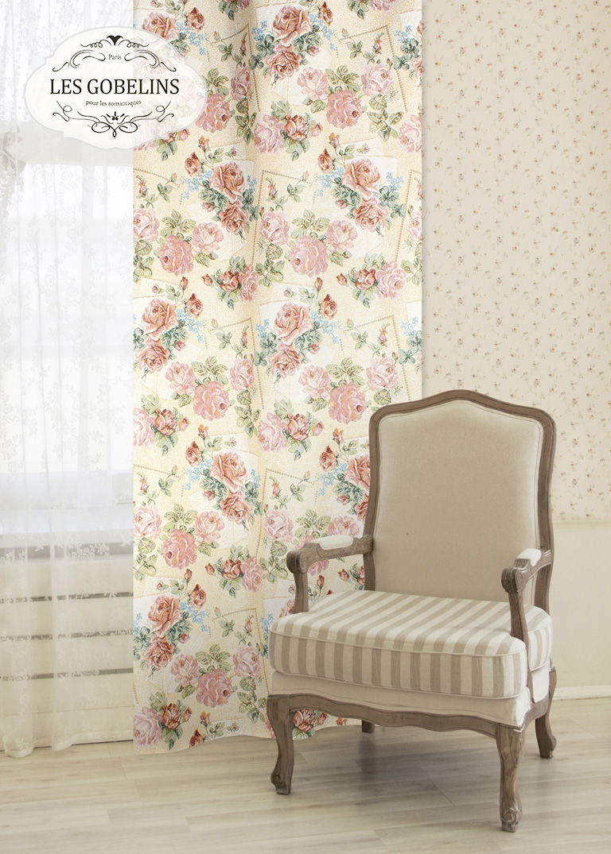 Шторы Les Gobelins Классические шторы Rose delicate шторы kauffort классические шторы barolo