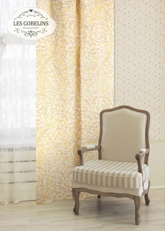 Шторы Les Gobelins Классические шторы Paroles or шторы kauffort классические шторы barolo