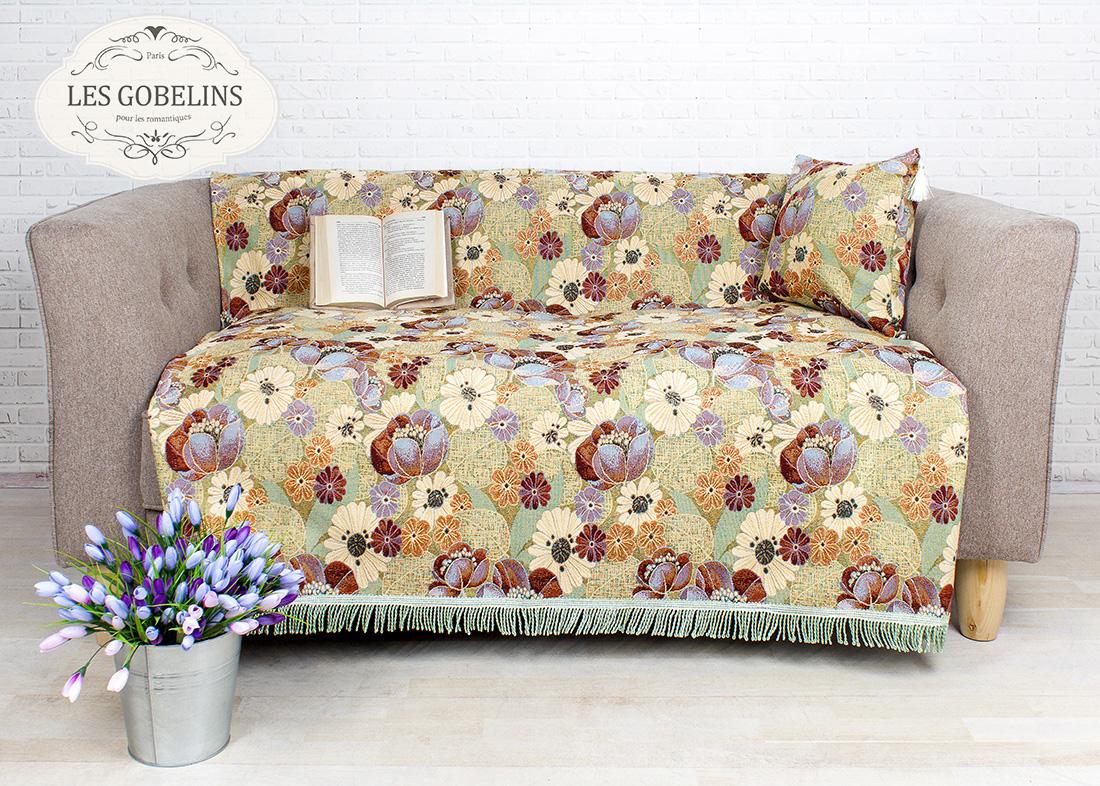 Покрывало Les Gobelins Накидка на диван Fantaisie (160х160 см)