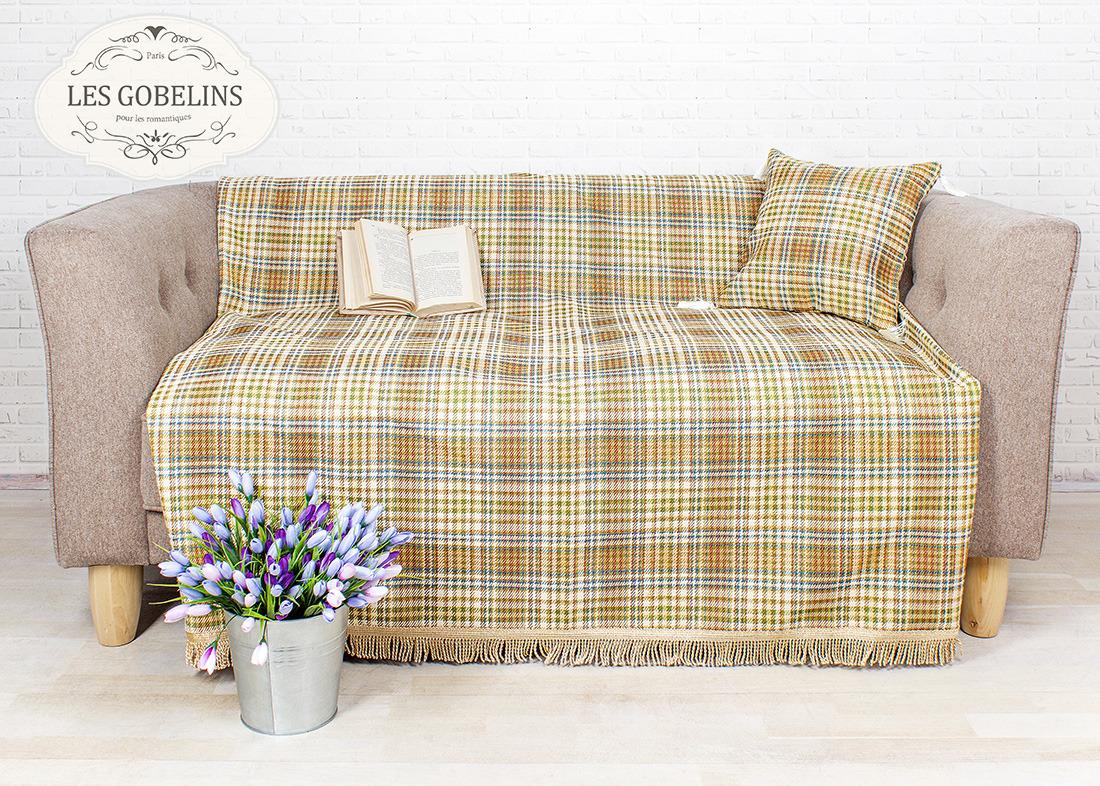 Покрывало Les Gobelins Накидка на диван Cellule vindzonskaya (160х180 см)