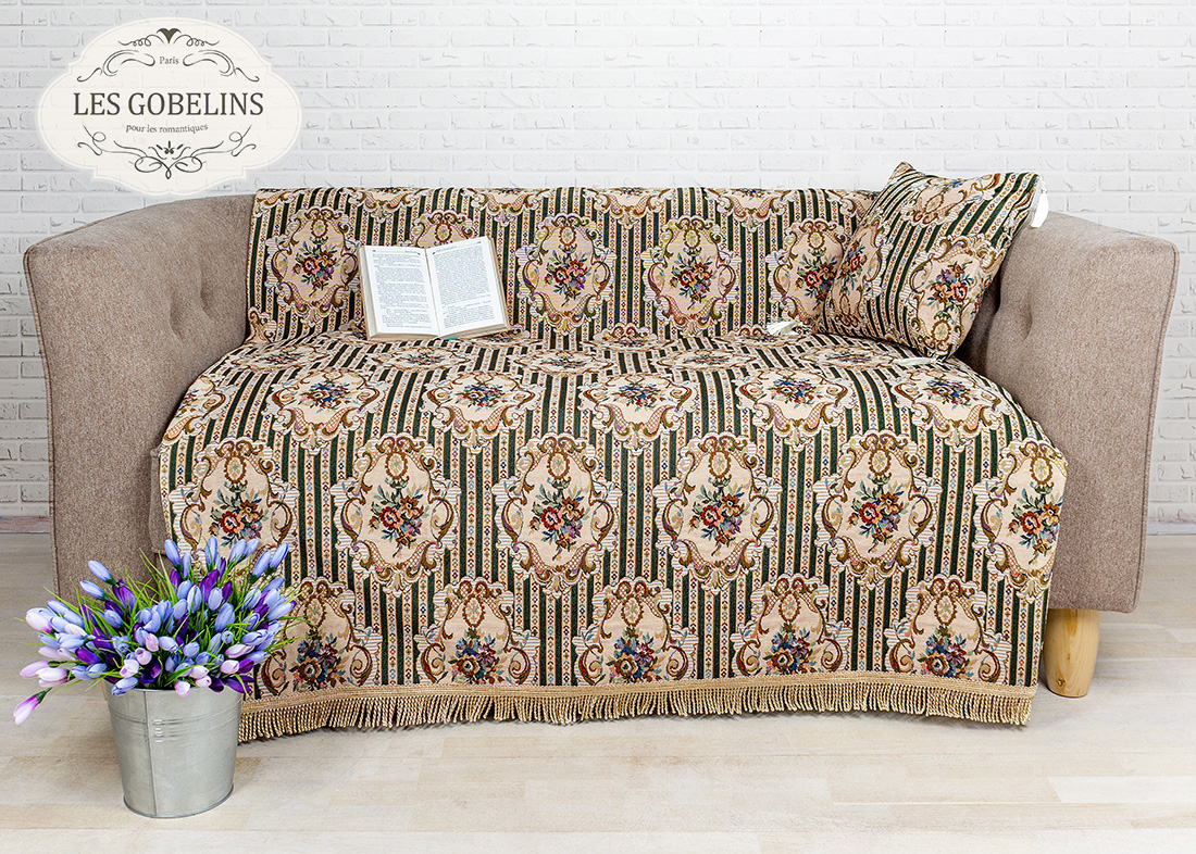 где купить Покрывало Les Gobelins Накидка на диван 12 Chaises (150х170 см) по лучшей цене