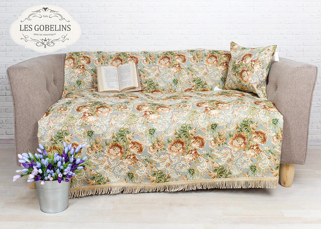 где купить Покрывало Les Gobelins Накидка на диван Catherine (140х220 см) по лучшей цене