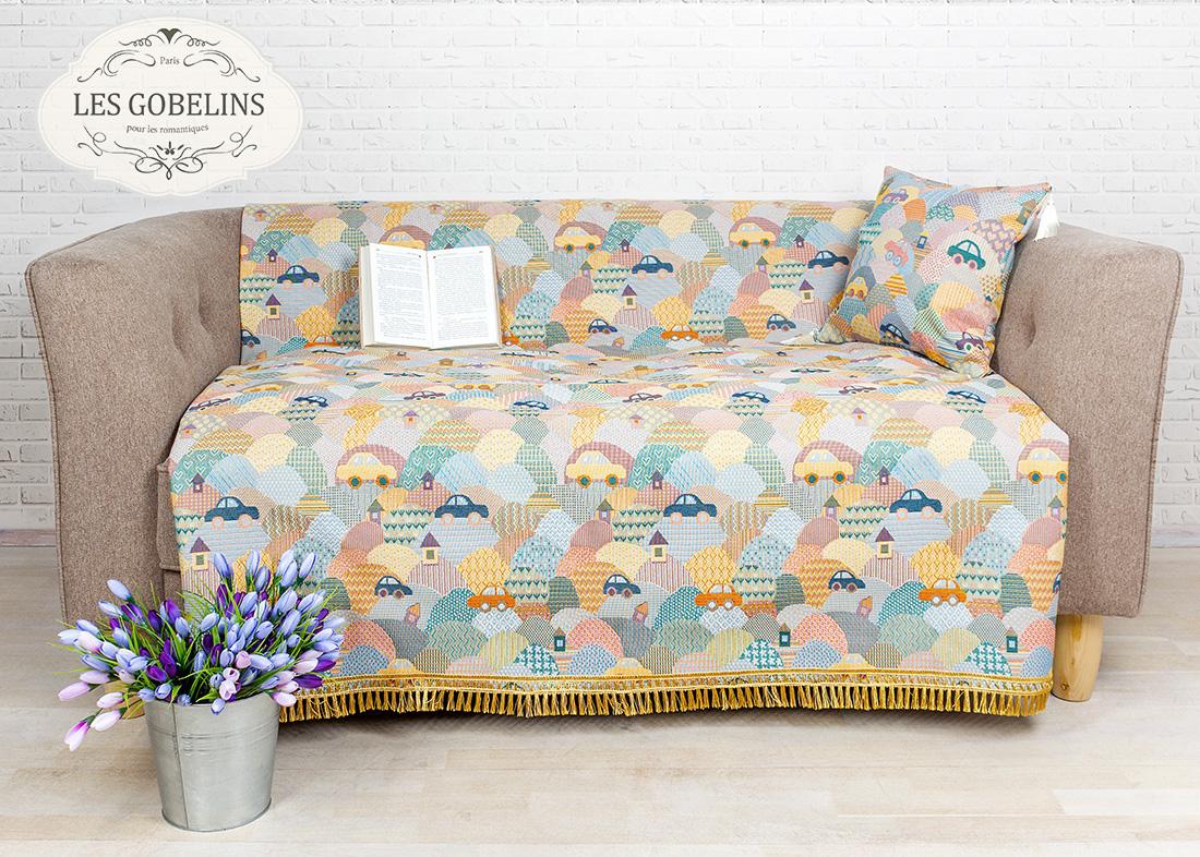 где купить Детские покрывала, подушки, одеяла Les Gobelins Детская Накидка на диван Clippers (160х160 см) по лучшей цене
