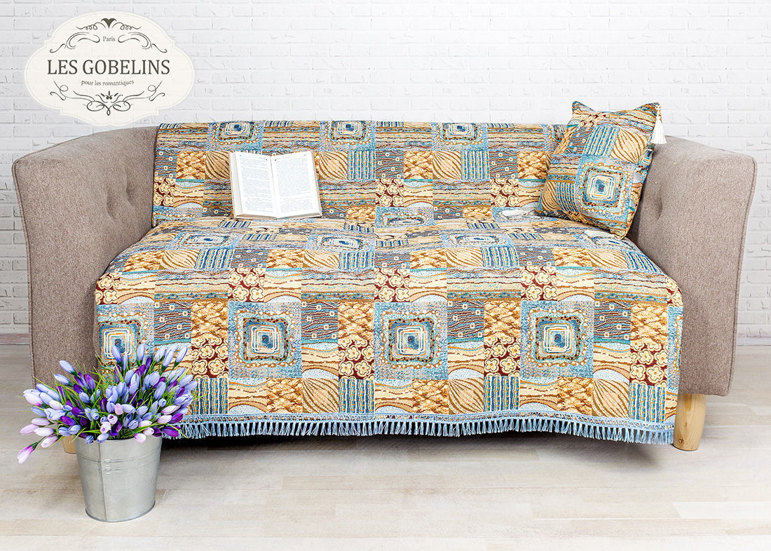 Покрывало Les Gobelins Накидка на диван Patchwork (140х210 см)