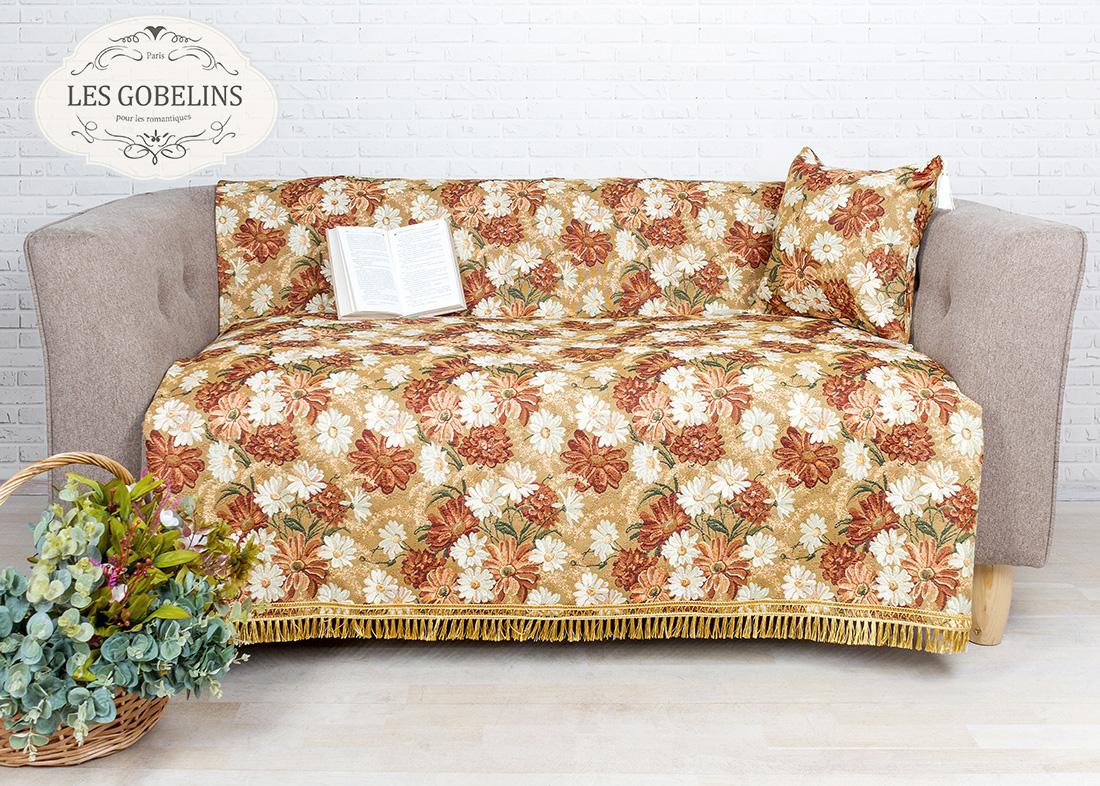 все цены на Покрывало Les Gobelins Накидка на диван Il aime degouts (130х160 см) в интернете