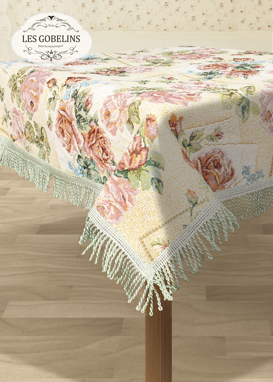 Скатерти и салфетки Les Gobelins Скатерть Rose delicate (130х180 см) скатерти и салфетки tango скатерть kaylyn 130х180 см