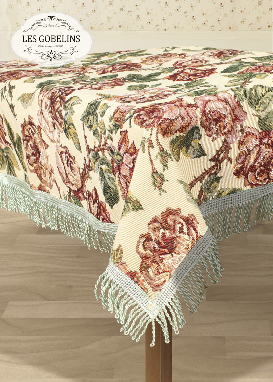 Скатерти и салфетки Les Gobelins Скатерть Rose vintage (150х150 см)
