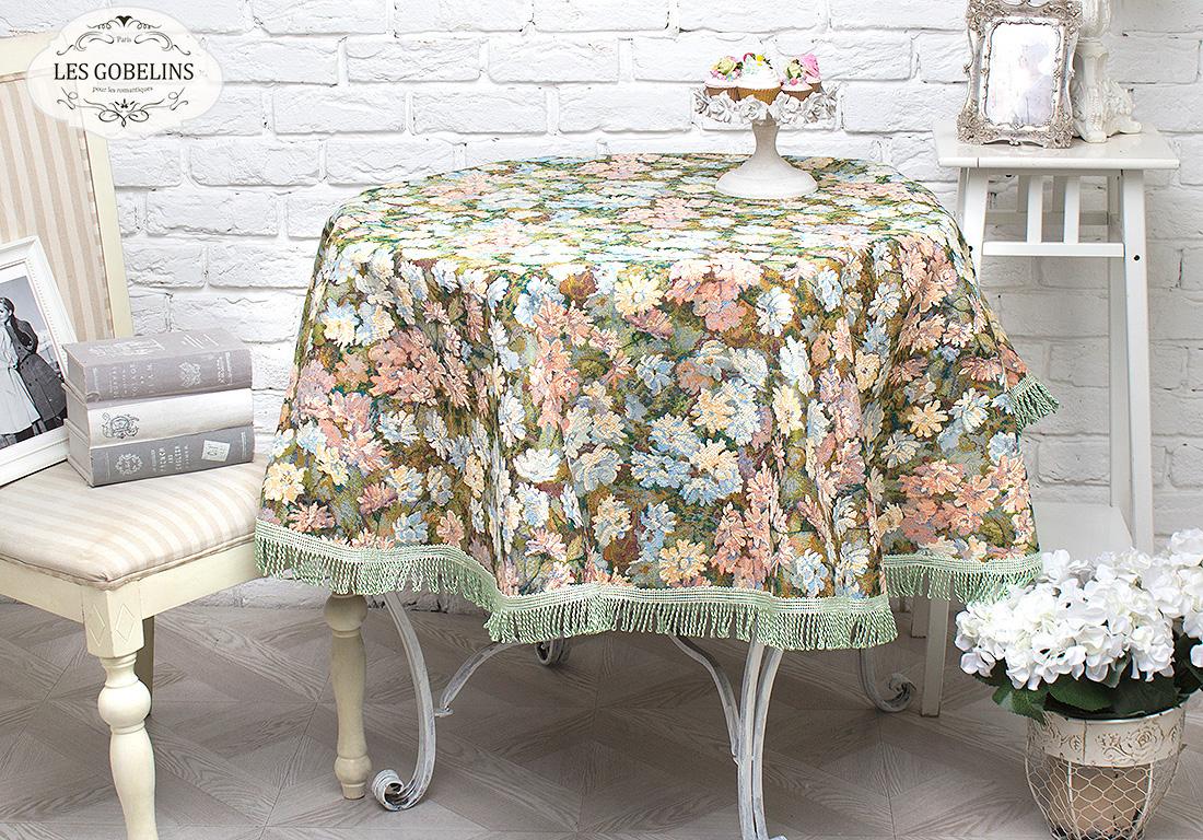 где купить Скатерти и салфетки Les Gobelins Скатерть Nectar De La Fleur (круглая 160 см) по лучшей цене