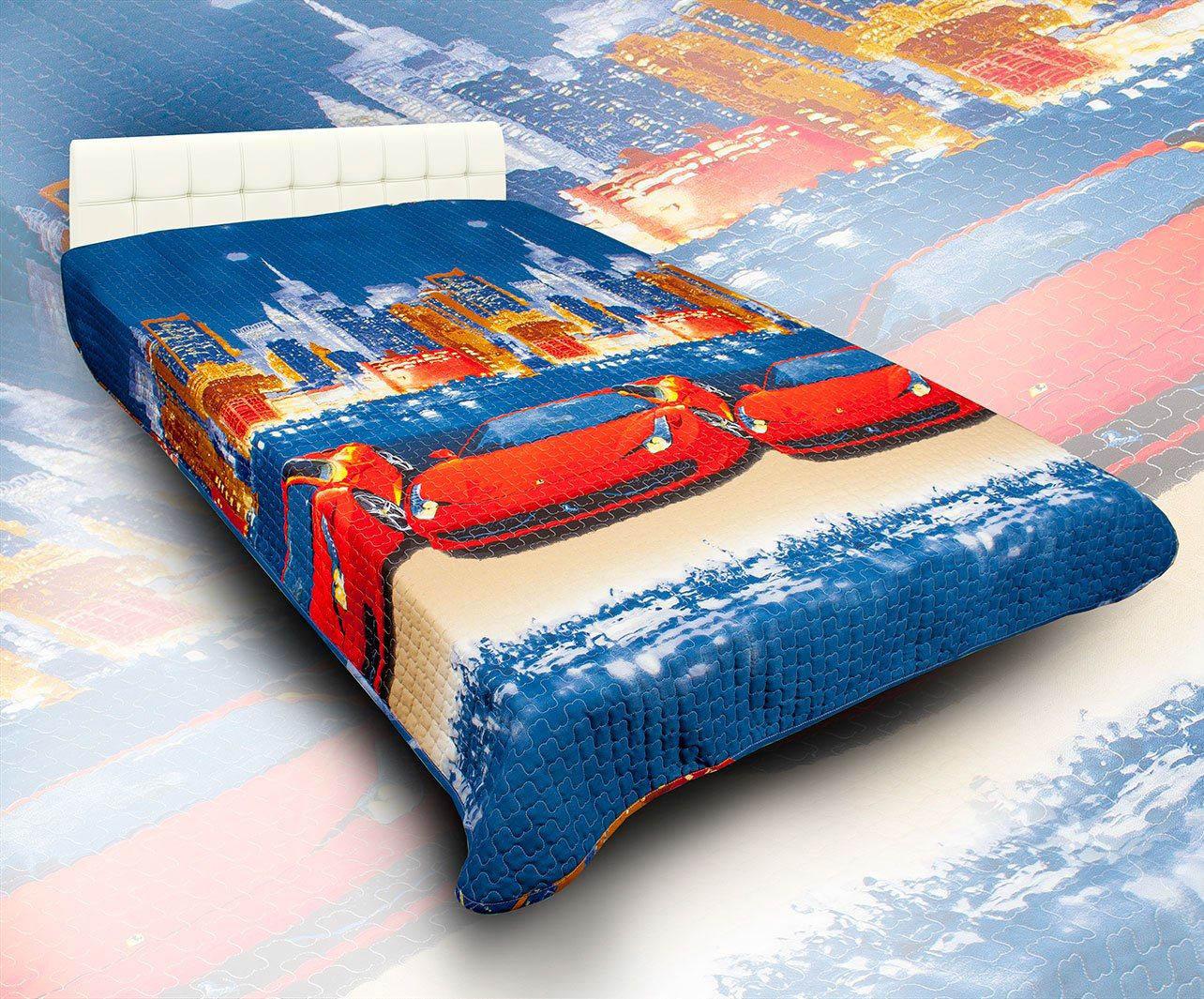 Детские покрывала, подушки, одеяла AlViTek Детское покрывало Лидер (150х215 см) покрывало рафаэль поплин 150х215