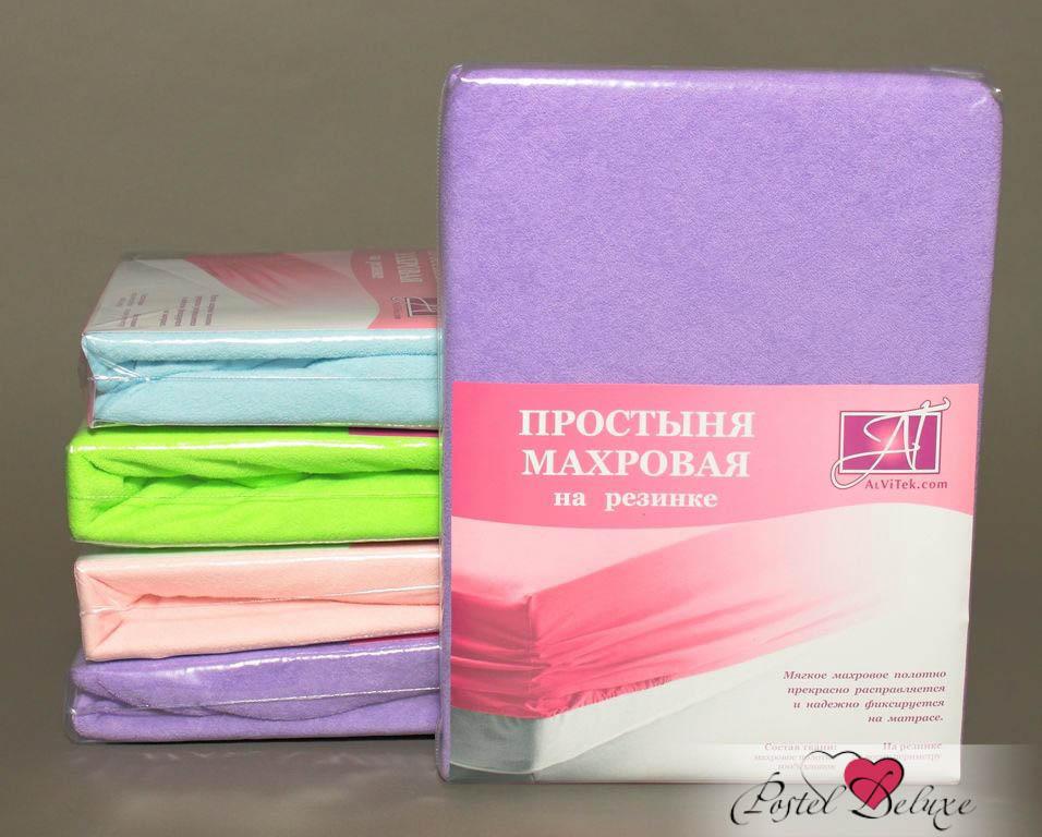 где купить Простыни AlViTek Простынь Paige Цвет: Лиловый (90х200 см) по лучшей цене