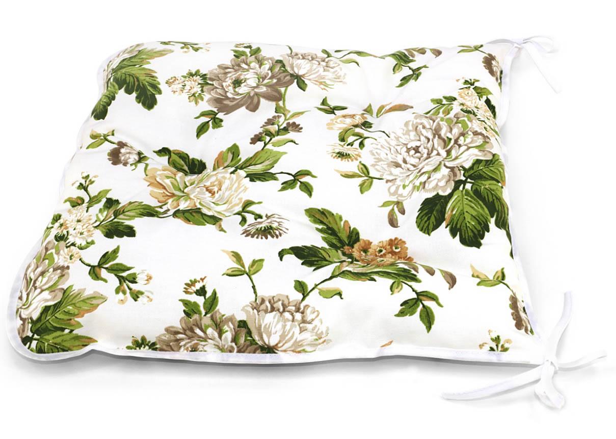Подушки на стул Kauffort Подушка на стул Luly Цвет: Бежевый (40х40) подушка на стул арти м райский сад