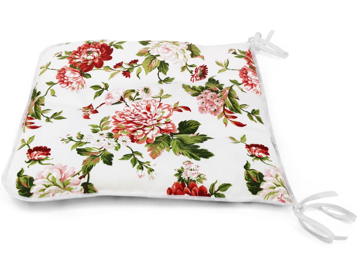 Подушки на стул Kauffort Подушка на стул Luly Цвет: Красный (40х40) подушка на стул арти м райский сад