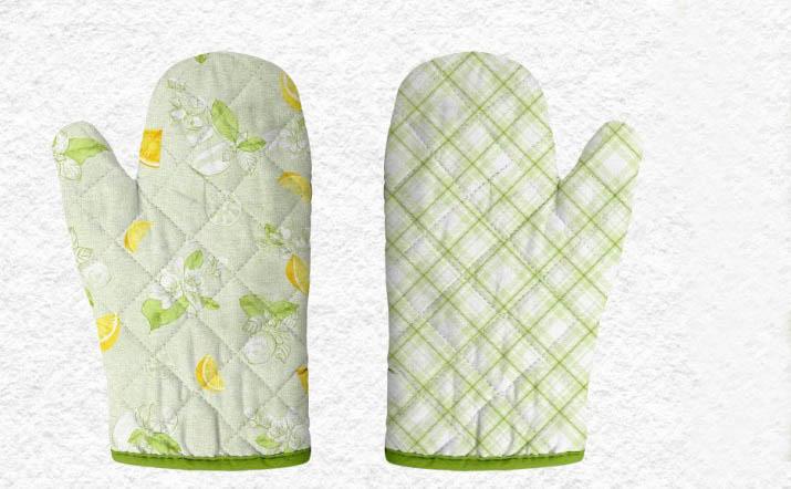 {} Романтика Прихватка-рукавичка Лимонный Сад комплект для кухни фартук прихватка рукавичка