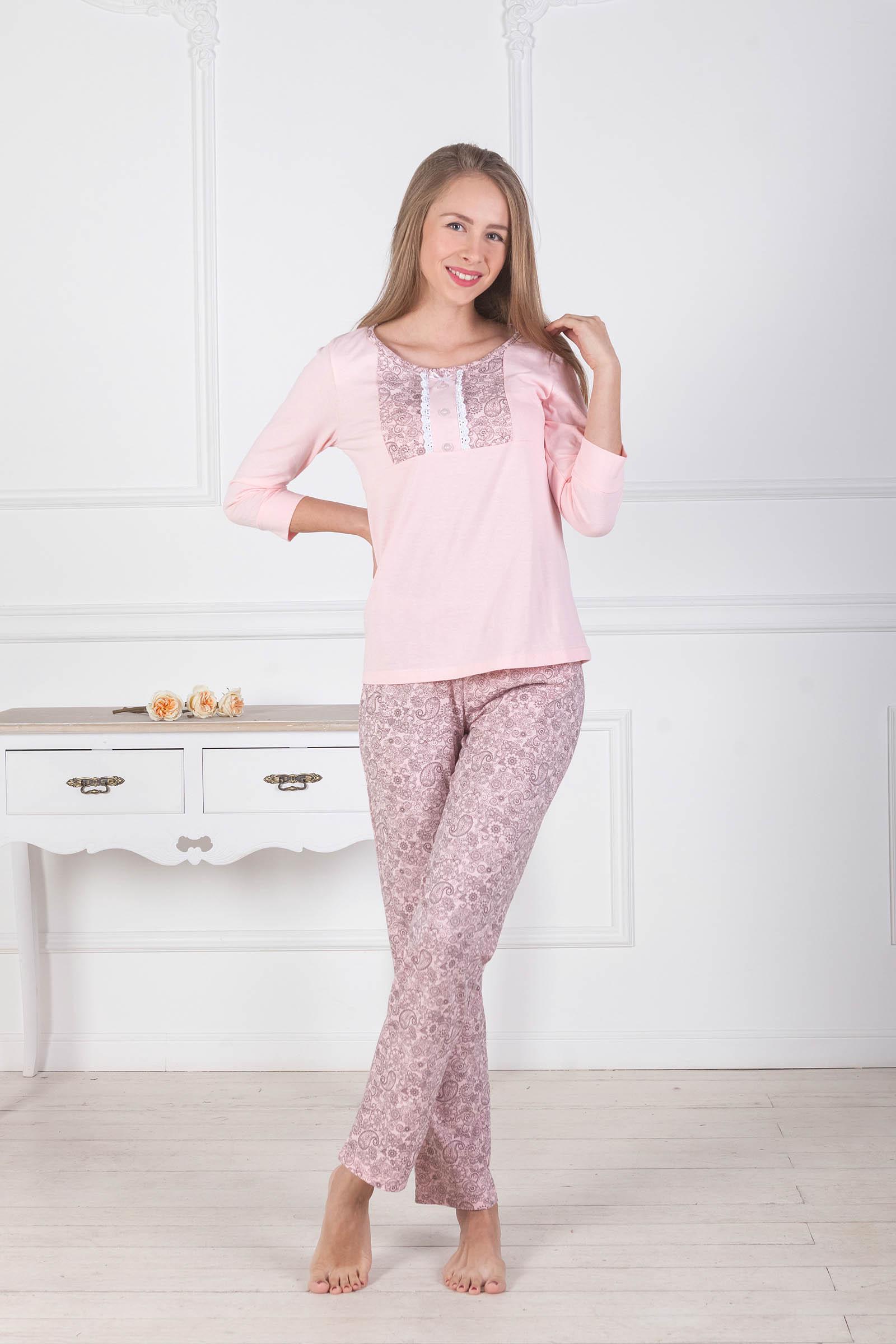 Пижамы Pastilla Пижама Лотос (xxL-xxxL) пижамы la pastel пижама кофта с запахом длинный рукав штаны длинные белый голубой размер xl