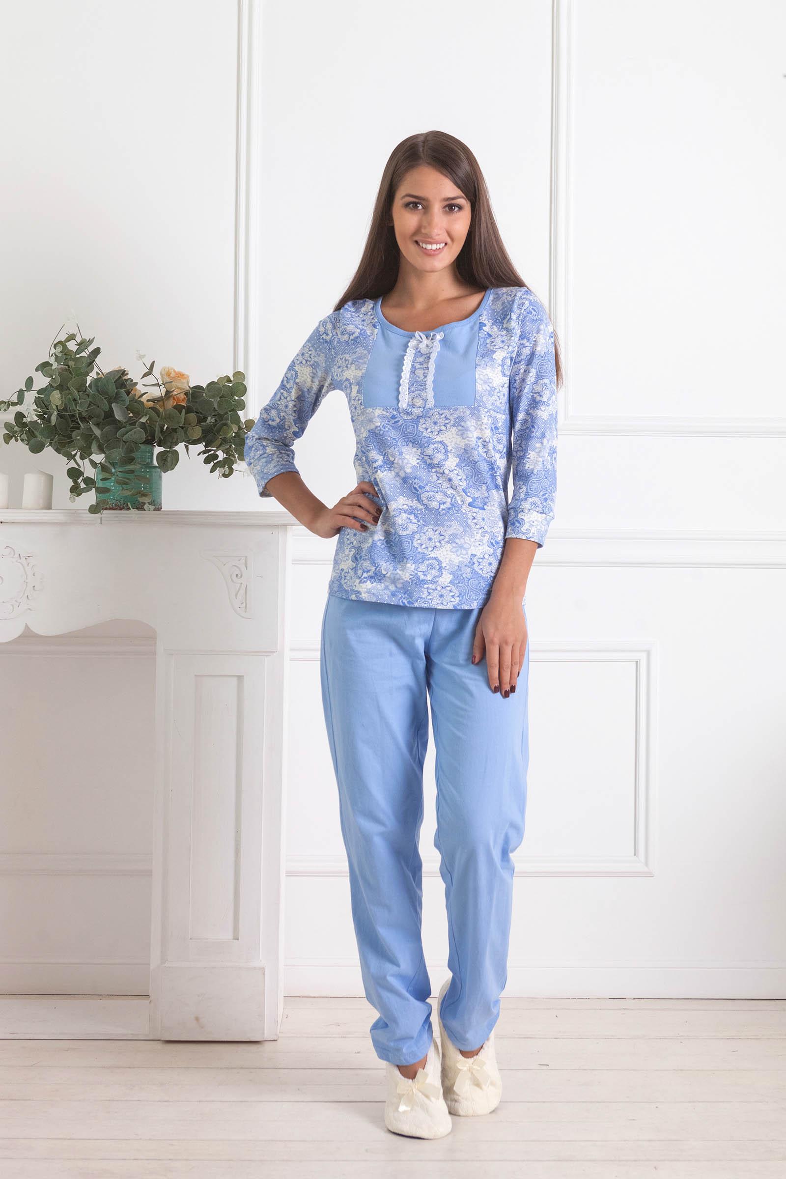 Пижамы Pastilla Пижама Лотос 2 (xxL) пижамы la pastel пижама кофта с запахом длинный рукав штаны длинные белый голубой размер xl