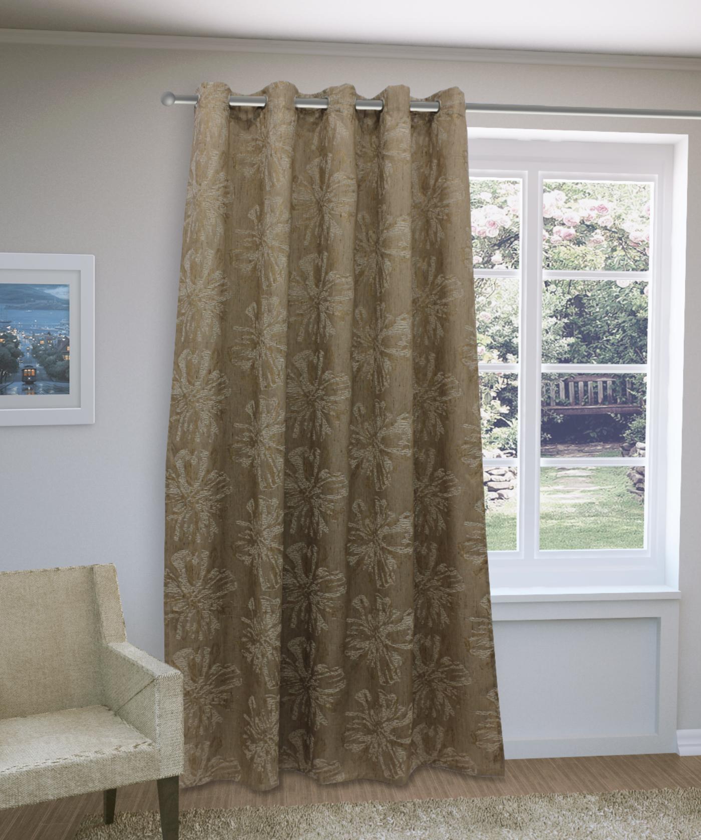 Шторы Sanpa Классические шторы Луана Цвет: Золотисто-Коричневый
