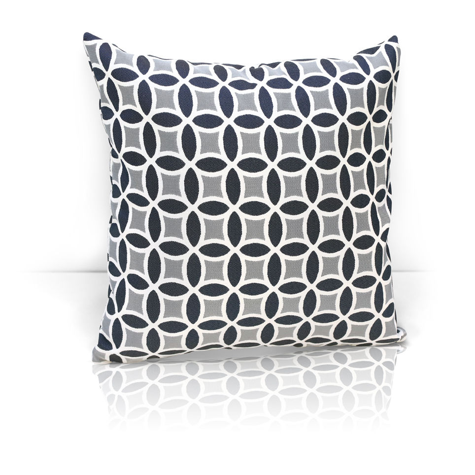 Декоративные подушки Kauffort Декоративная подушка Lubawa Цвет: Темно-Серый (40х40) штора легкая kauffort barolo