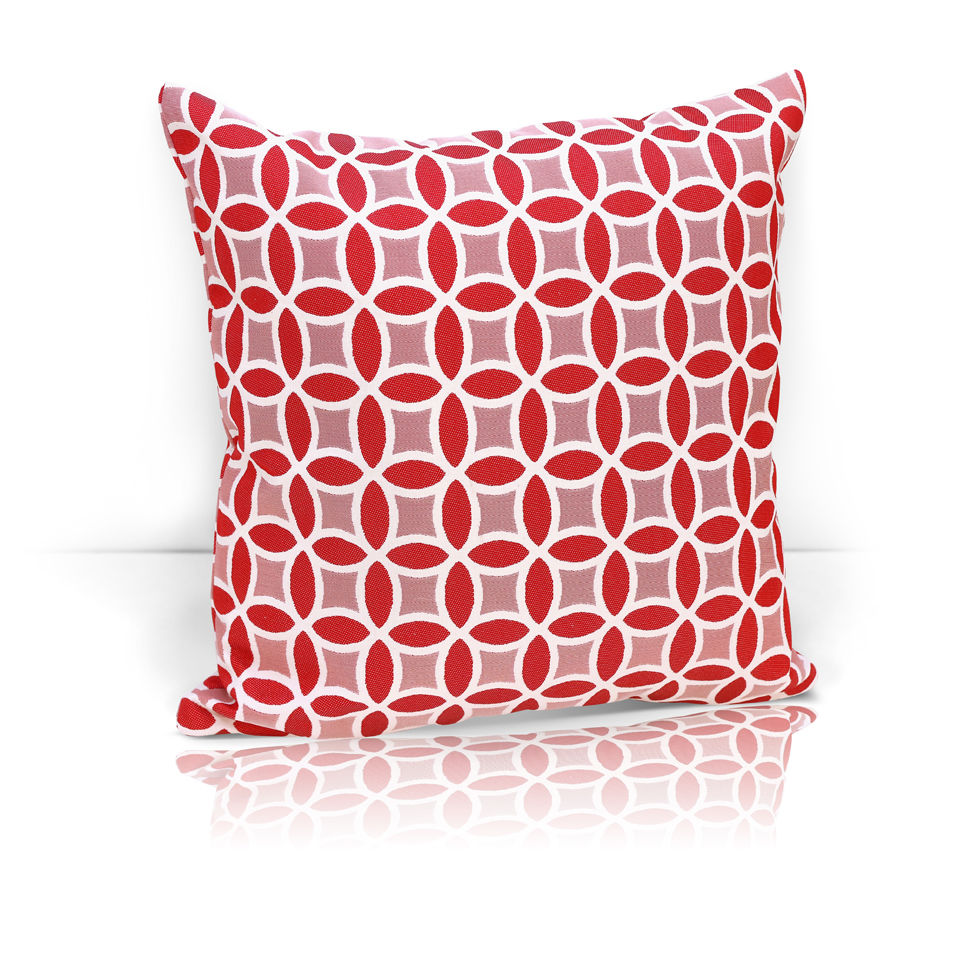 Декоративные подушки Kauffort Декоративная подушка Lubawa Цвет: Красный (40х40) штора kauffort barolo k